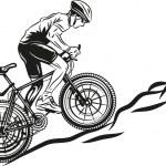 Постер, плакат: MTB biker
