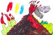 Volcanoes — Stock Photo