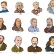 Vector de stock : Scientists I