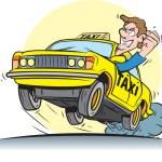 Taxi driver — Stock Vector #44035201