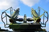 Anti aircraft defence system — Stock Photo