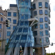 Dancing house, Prague, Czech Republic - Stock Photo