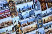 Souvenir shop, Prague, Czech Republic — Stock Photo