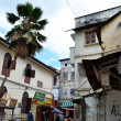 Stock Photo: Old part of Stone Town, Zanzibar