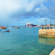 Stock Photo: Port in Stone Town, Zanzibar