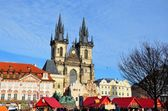 Easter market at Old Town Square, Prague — Stock Photo