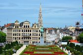 View of Brussels, Belgium — Stock Photo
