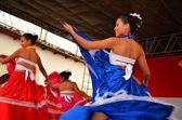 Colonial town Suchitoto and its people, El Salvador — Stock Photo