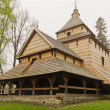 The oldest eastern orthodox church architecture in poland in radruz from 16th century — Stock Photo