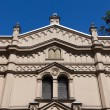 Stock Photo: Tempel synagogue in distritc of krakow kazimierz in poland on miodowstreet