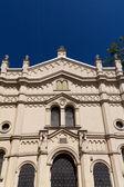 Tempel synagogue in distric of krakow kazimierz in poland on miodowa street — Stock Photo