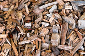 Wood chips background and texture — Stock Photo