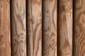 Wooden pine panel fence background texture bright — Stock Photo