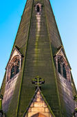 Detalle de la iglesia de st martins en el centro de birmingham — Foto de Stock