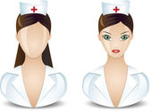 Nurse icon — Stock Vector