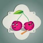 Cherry couple — Stock Vector #13693407