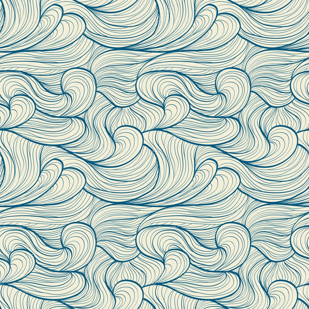 Ocean shells pattern Vector | Free Download
