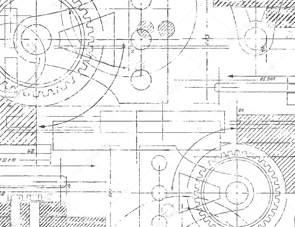 Technical engineering drawings the for Engineering blueprints