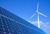 возобновляемые источники энергии — Стоковое фото