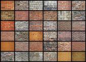 Brick Walls — Stock Photo