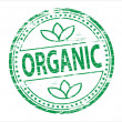 Organic Stamp — Stock Vector
