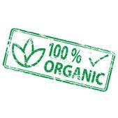 Selo orgânico — Vetor de Stock