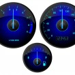 Stock Vector: Gauges