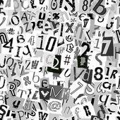 Newsprint Background — Stock Vector
