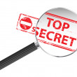 Top Secret - Stock Vector