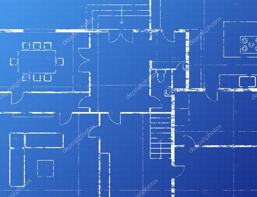 Blueprint Stock Vector Eyematrix 14182131