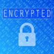 Royalty-Free Stock Vector Image: Encrypted Data Background