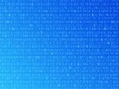 Hexadecimal Background — Stock Vector