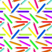 Pencils Background — Stock Vector