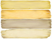 Vintage Paper Banners — Stock Photo