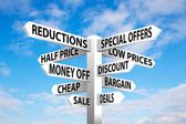 Sale Signpost — Stock Photo