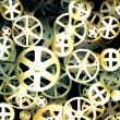 Stock Photo: Old Gear Wheels