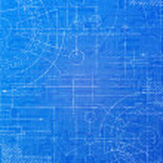 Technical Blueprint — Stock Photo