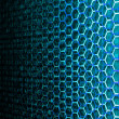 Hexagon Data Background — Stock Photo