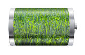 Wheat Field Battery — Stock Photo