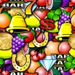 Repeating Fruit Machine Background — Stock Photo #38971583