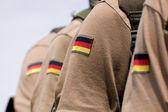 Bundeswehr soldiers — Stock Photo