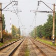 Stock Photo: Railwat track