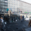 Barricades in Kiev — Stock Photo #39823613