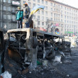 Barricades in Kiev — Stock Photo #39823625