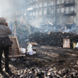 Barricades in Kiev — Stock Photo #39823629