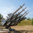 Stock Photo: Air defense missiles