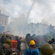 Stock Photo: Protests in Kiev