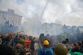 Protests in Kiev — Stock Photo
