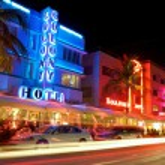 MIAMI SOUTH BEACH HOTELS — Stock Photo