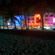 SOUTH BEACH,VIEW FROM THE BEACH — Stock Photo #12889686